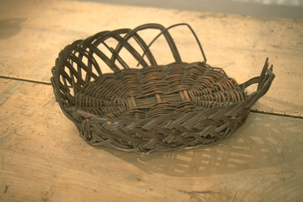 Bread basket from the Burns' household